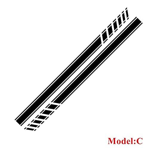 pegatinas de coches Puertas de coche Sald Pegatinas Compatibles con OPEL Adam...