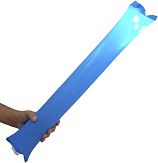 FUN FAN LINE - Pack de 10 unités de bâtons Lumineuses. Barres Lumineuses colorées Originales avec lumières LED pour fêtes,...