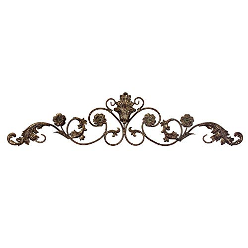 Imax Allegro Wall Decor Hanging in Gold Metallic Finish – Low Maintenance, Corrosion Resistant, Wall Art for Homes, Offices. Metal Sculptures