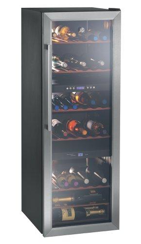 Hoover HWC-2536 DL Cave à vin de service 53 bouteilles Noir