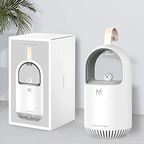 Mosquitara Home Killer i-Paint, atrapa mosquitos, lámpara USB, lámpara repelente de mosquitos, sin ruido, blanco