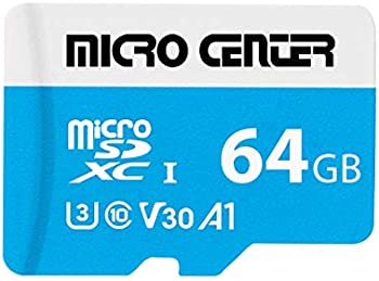 Micro Center Premium 64GB microSDXC UHS-I Flash Memory Card