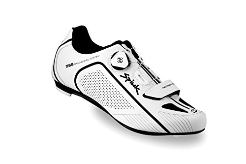 Spiuk Altube Road Zapatilla, Unisex Adulto, Blanco/Negro, 39