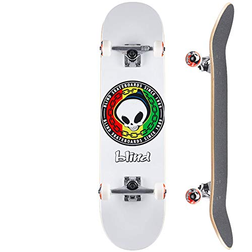 ブラインド BLIND スケートボード コンプリート RASTA REAPER COMPLETE 92A NO136 (8.125インチ, コンプリ...