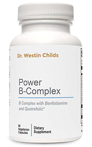 Dr. Westin Childs - Power B-Complex - Highly Absorbed, Pre-Methylated B Spectrum Vitamins + Benfotiamine Designed to Help Support Energy, Adrenal Function & The Stress Response - 45 Day Supply