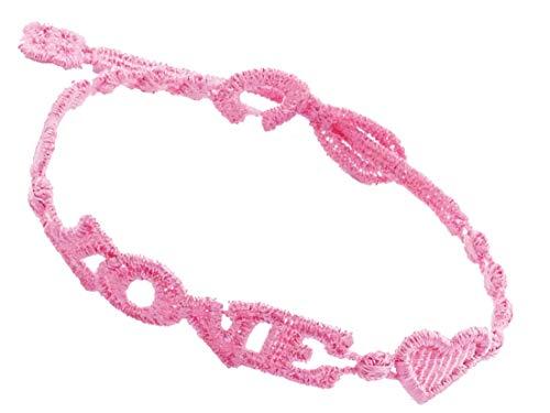 Cruciani Armband Love für Damen und Herren - Makramee Spitze