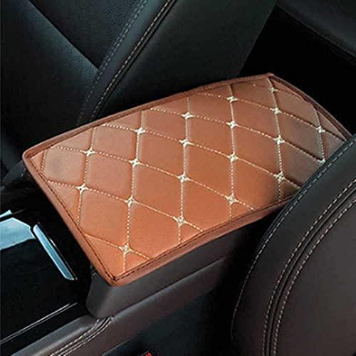 Z0XPin - Alfombrilla para consola de coche, color negro, compatible con Ford Focus 2 kia Rio Chevrolet Cruze Toyota Solaris kia ceed Lada Vesta (estilo 3)