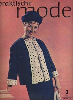 Pramo 3 1963 Praktische Mode DDR Schnittmuster