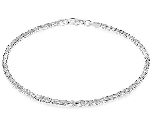 Tuscany Silver Venezianerkette Armband Sterling Silber 18cm/7'