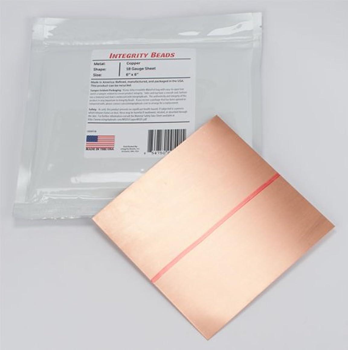 Copper 18 Gauge Sheet - 6