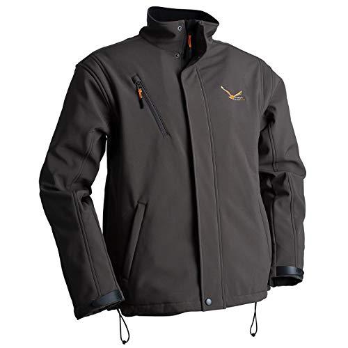 Modern Heatwear Softshell-Jacke mit Heizsystem Oliv, beheizbare Jacke