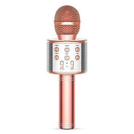 【3/31まで】Tronic Master Bluetoothカラオケマイク 録音可能 1,349円送料無料!