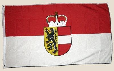 Flagge Österreich Salzburg - 90 x 150 cm [Misc.]