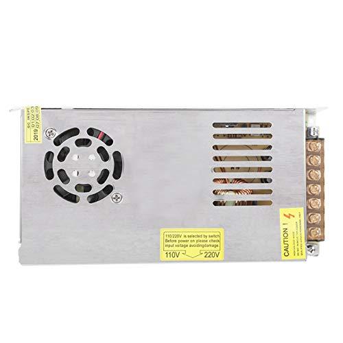 Transformador de fuente de alimentación 100 W - 500 W, interruptor de fuente de alimentación LED estable de aleación de aluminio (12 V17 A (200 W)