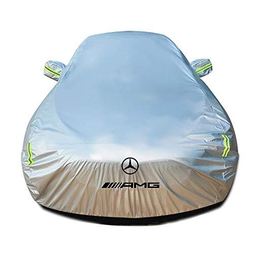 Autoabdeckung Kompatibel mit Mercedes-AMG SL 55 Roadster, Wasserdicht Autoabdeckplane Schutzhülle Abdeckung Plane Autoplane Ganzgarage Vollgarage Staubdicht Sonnenschutz Stoff Autogarage