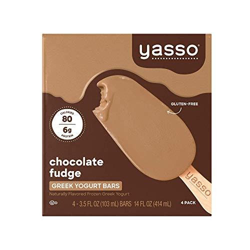 Yasso Frozen Greek Yogurt Bars, Chocolate Fudge,...
