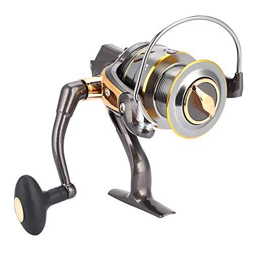 GJHBFUK Relate De Hilado Relación De Engranajes Alta Relación Spinning 6.3: 1 Brazo De Metal Spool Hollow out Diseño Reel De Pesca KY5000