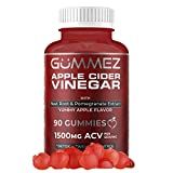 Apple Cider Vinegar Gummies - 90 Count, 1500mg ACV Detox, Weight Loss & Energy. YUM Gummez ACV Gummies Taste Great Compared to Pills, Capsules, Tablets