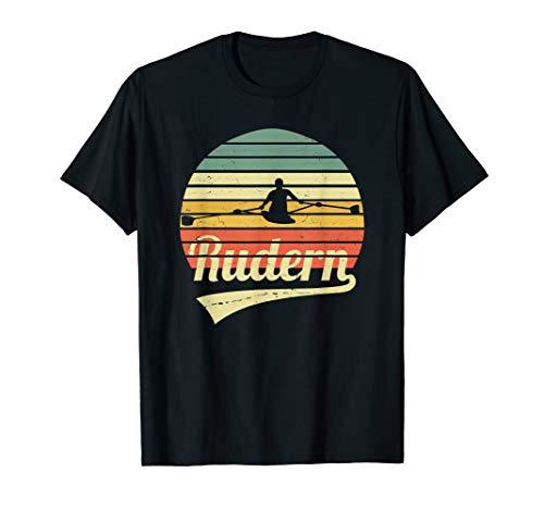 Rudern Rowing Ruderer Outfit Vintage Retro Rudersport T-Shirt