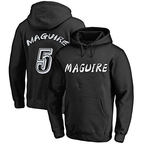 男性と女性のカジュアルなビッグポケットパーカー、5#ハリー・マグワイアのファッションパーカーやトレーナー、緩んではなくタイト、マルチカラーオプション (Color : D, Size : 3XL)