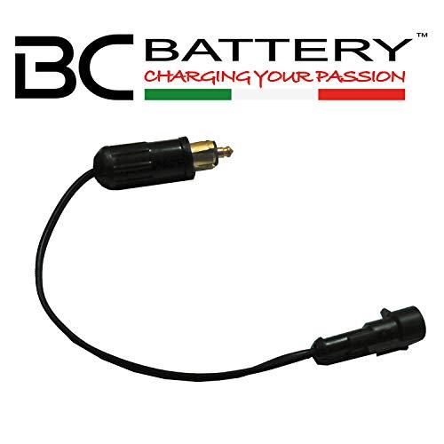 BC Battery Controller 710-FP612V Connecteur/Adaptateur pour Chargeur de Batterie pour Prises 12 V Hella/DIN 4165