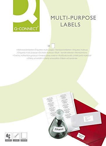 Connect Self-adhesive labels 70 x 37 mm - Etiqueta