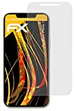 atFolix Panzerfolie kompatibel mit Apple iPhone 12 Schutzfolie, entspiegelnde & stoßdämpfende FX Folie (3X)