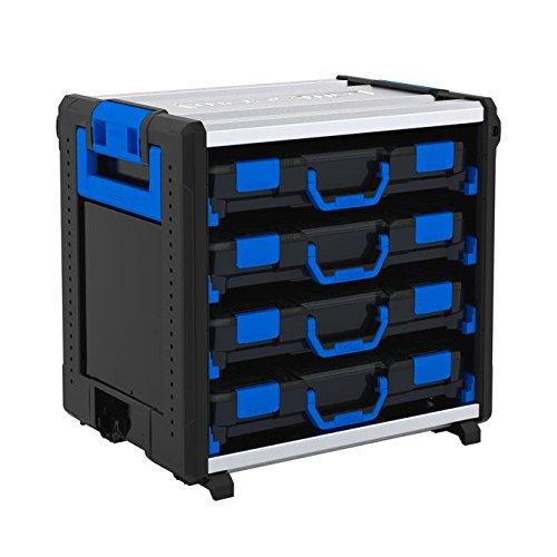 Sortimo 1000003823 WorkMo 24-500 inkl. 8 Kofferschienen und 4 T-BOXXen H Standard