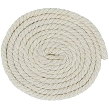 Several Lengths to Choose 3//16 7//32 1//4 5//16 3//8 1//2 5//8 3//4 1 1 1//4 GOLBERG G 1 5//16 1 1//4 GOLBERG Twisted 100/% Natural Cotton Rope 5//32 5//8 3//8 White Cotton Rope 1//4 3//4 7//32 1//2 1 1//2 3//16