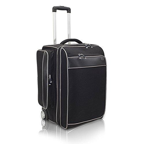 Elite Bags SPORT\'S TROLLEY Arzttasche Schwarz 64 x 34 x 33 cm