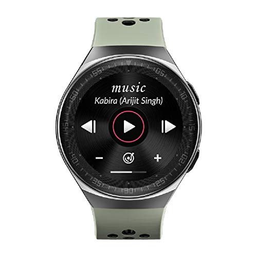 Evolves NextFIT Song Full Touch Smart Watch with Bluetooth Music,...