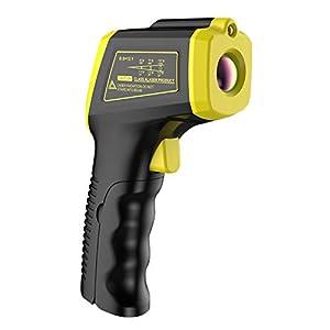 perfeclan Termometro a Infrarossi, Pistola a Infrarossi Termometro Non Contatto -58 ℉ ~ 1112 ℉ (-50 ℃ ~ 600 ℃) con Schermo LCD a Colori Digital Temperature Gun
