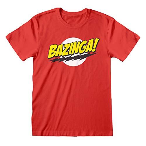 The Big Bang Theory Bazinga Camiseta para Hombre| mercancía Oficial