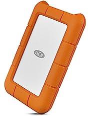 LaCie HDD ポータブルハードディスク 2TB Rugged Mini USB type C 耐衝撃 2 2EUAP9