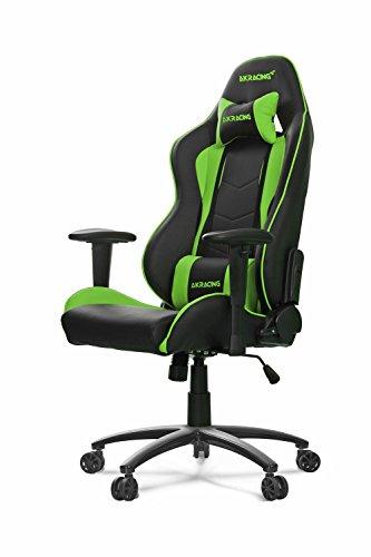 AKRacing Nitro - AK-NITRO-GN - Silla Gaming, Color Negro/Verde