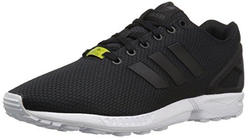 adidas Originals Herren ZX Flux Shoes Turnschuh, Schwarz/Schwarz/Weiß, 42 EU