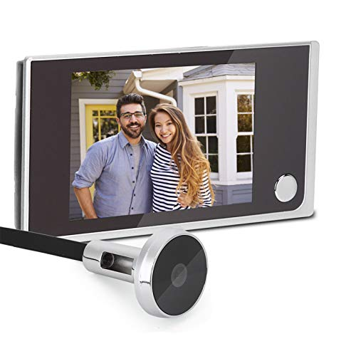 """Home Video Doorbell 3.5"""" Digital LCD Security Camera 120 Degree Peephole Viewer Photo Visual Monitoring Electronic Cat Eye Camera Wireless Camera System for Home Office"""