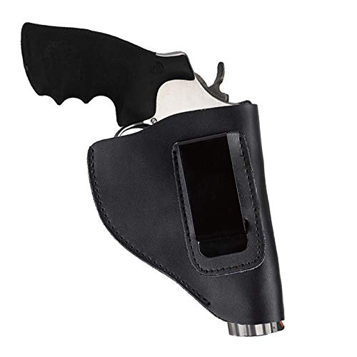 LIUSHUNBAO Hunting Supplies Cool Tactical Holster In Gun Accessories Genuine Leather Hunting Combat Holster For Revolver New Black