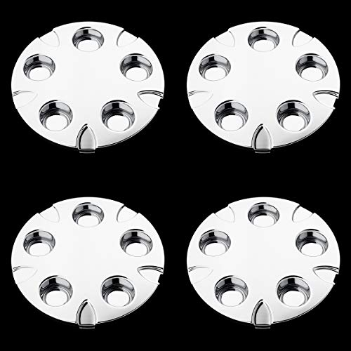 BB Auto Set of 4 New 16 inch Wheel Hub Center Caps Chrome Hubcaps Covers Replacement for 1999-2004 Chevrolet S10 / Blazer Xtreme