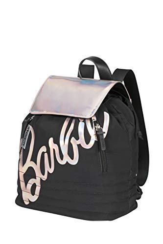 American Tourister Modern Glow Barbie - Mochila de ciudad, color negro (Shimmer Power Barbie)