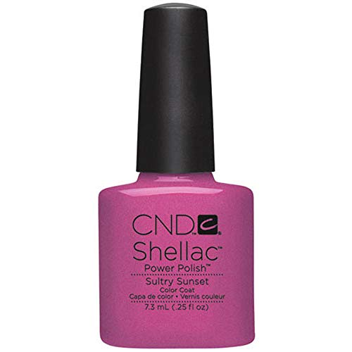 CND - Shellac, Smalto per unghie UV, Sultry Sunset, 7 ml
