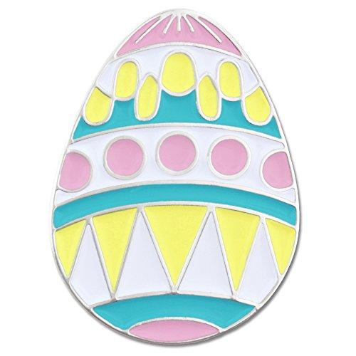 PinMart Easter Egg Pastel Enamel Lapel Pin