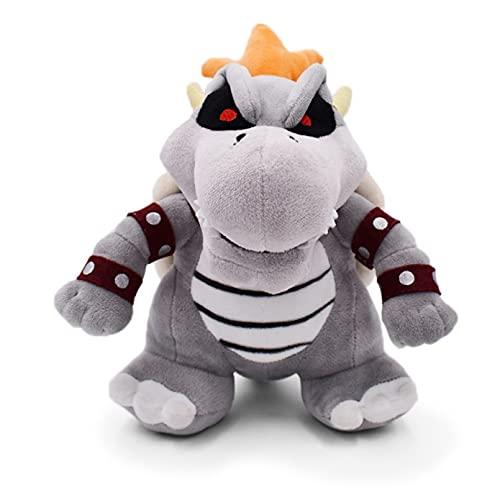 YNIEIAA Super Mario All-Star Series Dry Bone Bowser Plush Toy, 10 Inches (25 cm) Plush Stuffed Doll Children'S Gift