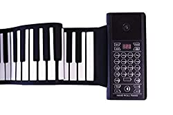 in budget affordable iLearnMusic Roll-up Piano Premium Silicone | Retained Keys | Improved Built-in Amplifier…