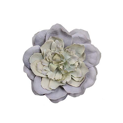 SOQHD Künstliche Blumen Pfingstrose Blüte Dekoration Startseite (Color : Gray)