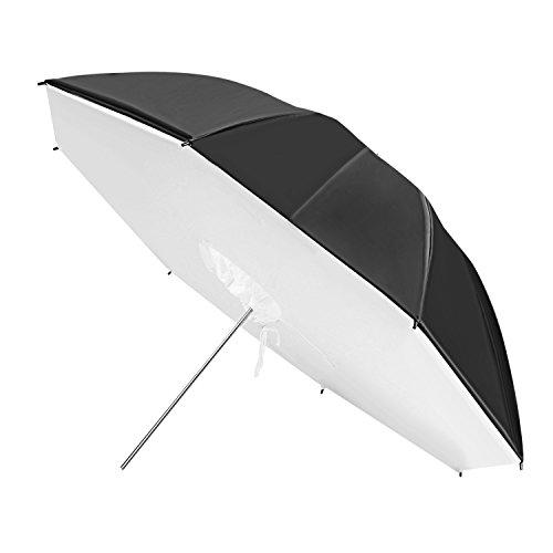 Neewer®, soft box ombrello riflettente e pieghevole per studio fotografico dal diametro di 109 cm per Godox Cowboystudio, Studiopro, Strobe Monolight e Speedlite con flash esterno