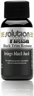 Sponsored Ad - Solution Finish - Black Plastic & Vinyl Restorer - Use for Car and Truck Detailing - 1 oz.
