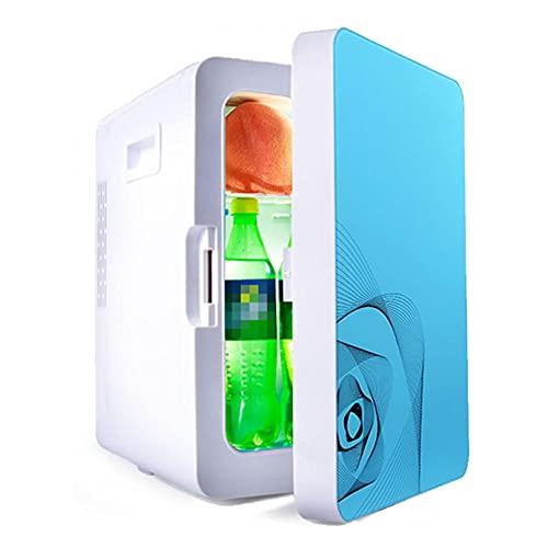 Mini Nevera Portatil PequeñA, 20L Refrigerador y Calentador Compacto de Gran Capacidad 12v / 220v Congelador de Una Sola Puerta para Autos Hogares Oficinas de AlimentacióN