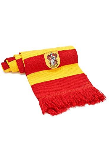 Harry Potter Gryffindor sjaal gelicentieerd geel rood 190 x 23 cm