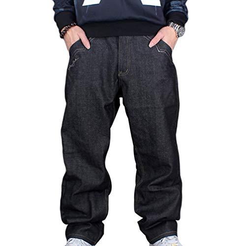Heren Denim Broek Exquisite Vintage Classic Urban Jeans Eenvoudige Estilo Baggy Denim Hip Hop Dansende Broek Casual Broek